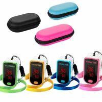 Sp02 Hear Rate Monitor Finger Pulse Oximeter Oxygen Blood Pressure Meter Sensor