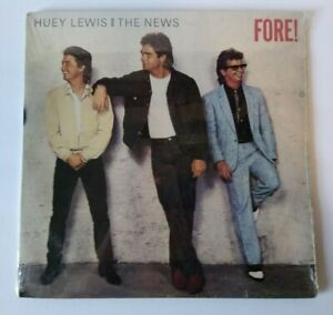 Huey Lewis And The News Fore Vinyl LP Record SEALED Club Ed Hip To Be Square