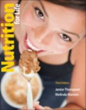 Nutrition for Life by Janice Thompson and Melinda Manore (2012, Paperback /...