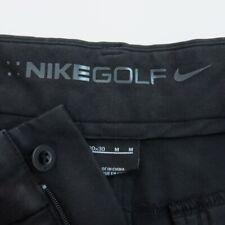 Nike Mens Golf Pants Size 30 Flat Front Black