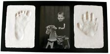 Clay Handprint Footprint Keepsake Photo Wall Frame Free Shipping Picture Baby