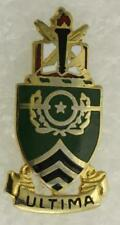Vintage US Military DUI Pin US Army Sgt Major Academy ULTIMA A-27