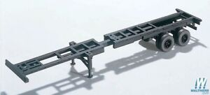 HO Extendable Container Chassis Kit - Walthers SceneMaster #949-4105 vmf121