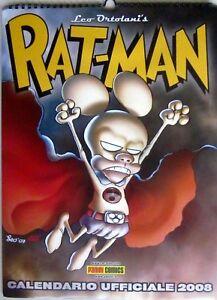 CALENDARIO UFFICIALE 2008 - RAT-MAN - LEO ORTOLANI - PANINI COMICS- BLISTER - L7