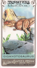 2010 Topps Allen & Ginter Mini Monsters of Mesozoic #Mm-25 Giganotosaurus