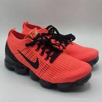 Nike Mens Air Vapormax Flyknit 3 Running Shoes Orange AJ6900 608 Lace Up 9.5 M