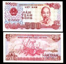 Authentic Vietnam 500 Dong UNC - Authentic Crisp Unused Vietnam Bill
