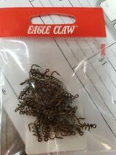 EAGLE CLAW  L2546 CHUNK BAIT HOOK  1//0 BLACK  50 PCS