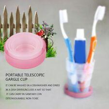 Portable Travel Cup Retractable Folding Mini Telescopic Collapsible Outdoor EL