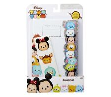New Disney Tsum Tsum Journal With Sticker Sheet Girl Boy Stationary Gift Set