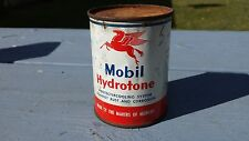 Rare Mobil Oil Hydrotone Cooling System Protectant 8 OZ Can Garage Man Cave Deco