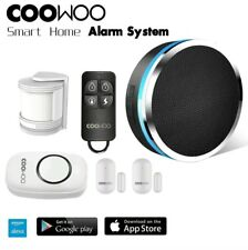 COOWOO ST30 Professional Wireless Smart Home Security Alarm System DIY