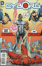 Cyborg #8 Cover B Variant Neal Adams Cover. NM DC Comic