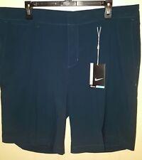 Nike Golf Performance Shorts Mens Sz 36 Midnight Blue Nwt