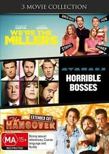 We're The Millers / Horrible Bosses / The Hangover DVD : NEW