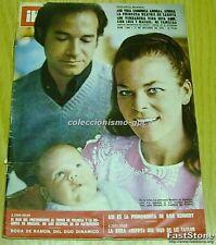 HOLA 1364 DUO DINAMICO DONOVAN ELIZABETH TAYLOR SALON DEL AUTOMOVIL DE PARIS '70