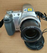 Sony Cyber-shot DSC-H2 6.0MP Digital Camera - Silver Carl Zeiss Lens