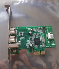 3 Port FireWire 2 Port 800 1394B 1 port 400 1394 un PCI-E x1 StarTech PEX1394B3