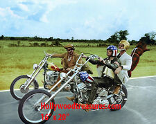 "Easy Rider~Jack Nicholson~Hopper~Biker~Motorcycle Chopper~Photo~ Poster 16""x 20"""