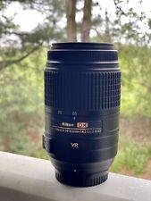 NIKON DX AF-S NIKKOR 55-300MM 1:4.5-5.6G ED VR Zoom lens / PLEASE READ /