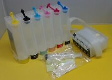 Ink system CISS for in use Epson Stylus 1400 Artisan 1430 printer T079 Empty