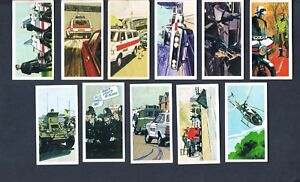 ***BROOKE BOND POLICE FILE 1977 CHOOSE INDIVIDUAL CARDS