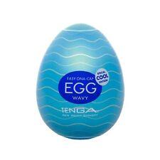 Tenga Cool Egg Stroker Male Masturbation Device w/ Lube Pocket Beat It | Wavy