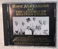 Dave Alexander and The Legends of Western Swing - CD - 1991 - Collectors Ed.
