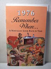 42nd Birthday / Anniversary - 1976 Remember When Nostalgic Book Card  - NEW