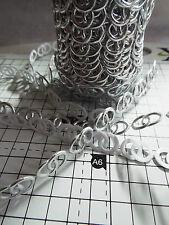 2m-argent anneaux de mariage-parage, appliques, ruban en dentelle de mariage