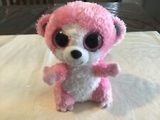 "Ty Beanie Boo - BUBBLEGUM - 2009 - 6"" - No Hang Tag"