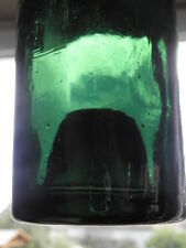 Antique Bottle glass french Mouth Blown primitive18th Liquor Spirits Liquor WINE