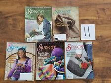 lot Spin-Off Magazine 2004 2005 felted lace spin knit hats solar dyeing woven