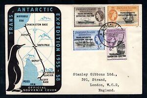 Falkland Island Dependencies 1957 Trans Antarctic Expedition Cover
