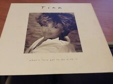 LP TINA TURNER WHAT'S LOVE GOT TO DO WITH IT PARLOPHONE 077778948612 EX/NM MCZ2