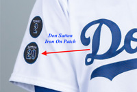 Don Sutton Patch # 20 Los Angeles Dodgers LA 2021 Baseball Jersey Patch Iron On