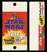 STAR WARS '77 WONDER BREAD TRADING CARD POLE SIGN & SHELF TALKER POSTER DISPLAY!
