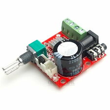 Audio Amplifier Board 12V Mini Hi-Fi PAM8610 2X10W Dual Channel D Class Stereo