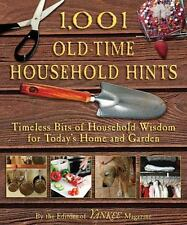 1,001 Old-Time Household Hints: Timeless Bits of Household Wisdom for-ExLibrary
