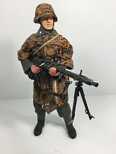 1/6 DRAGON GERMAN 3RD DIV MG-42 GUNNER CAMO P-38 RUSSIA WW2 BBI DID 21st