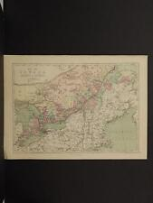 Antique Map, 1873, Ontario, Quebec, Canada, R4#16