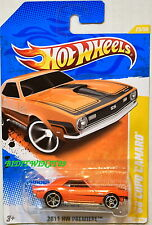 HOT WHEELS 2011 HW PREMIERE '66 COPO CAMARO #25/50