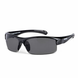 KW Kenworth Sport Sunglasses Black w/ rubberized ear pads UV400 New