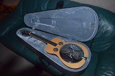 Regal Square Neck Dobro/Resonator Guitar with Case! Clean!