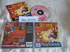 Rayman Rush PS1 (COMPLETE) rare black label Sony PlayStation platform racing