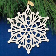 Lenox 2020 Annual Snow Fantasies Snowflake Christmas Ornament New 889964
