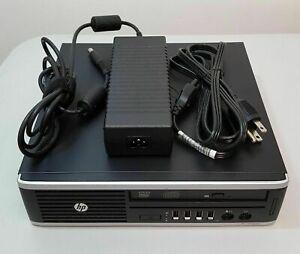 Ultra Slim Form PC HP 8300 Mini Desktop Computer Core i5 8GB 320GB DVDi Win10
