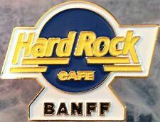 Hard Rock Cafe Banff 1995 Pre-Unification Blue Hrc Logo Pin Shilo '95 #13728