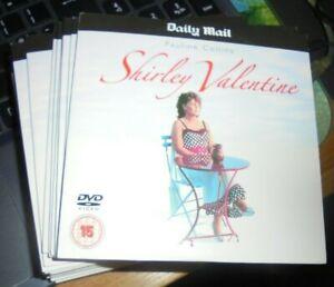 SHIRLEY VALENTINE - 104 mins (1989) PAULINE COLLINS, stars.1st class dispatch..