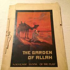 """SOUVENIR BOOK """"THE GARDEN OF ALLAH""""1911"""""""